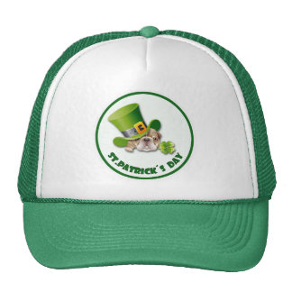 St. Patrick's Day Mesh Hats
