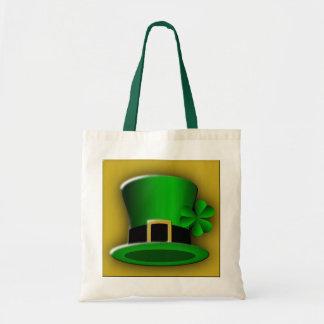 St Patricks Day Hat Budget Tote Bag