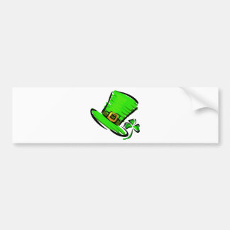 St. Patrick's Day Hat Bumper Stickers