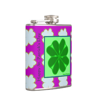 St. Patrick's Day Hip Flask