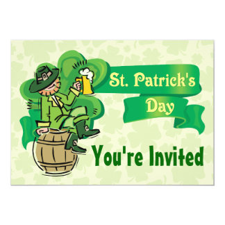 St. Patrick's Day Invitations! Card
