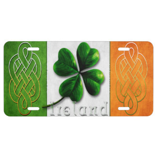 St. Patrick's Day Ireland/Flag License Plate