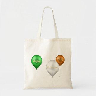 St. Patrick's Day Irish Balloons - Budget Tote