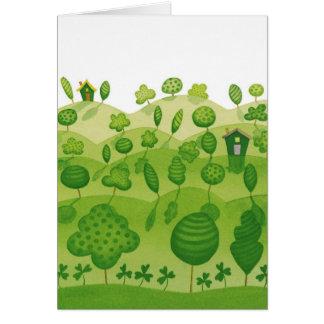 St Patricks Day Irish blessing Card