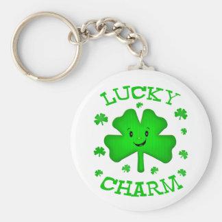 St. Patrick's Day Irish Clover Keychain