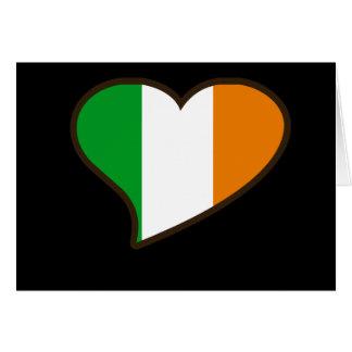 St patricks day Irish Flag Note Card