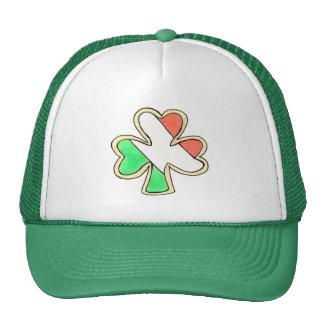 St. Patrick's Day Irish Flag Shamrock Cookie Hat