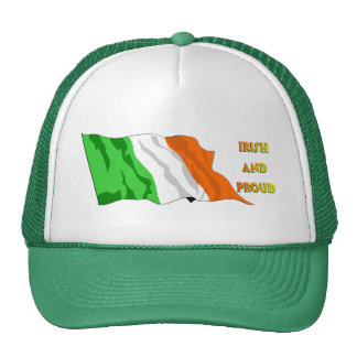 St Patrick's Day Irish Flag Trucker Hat