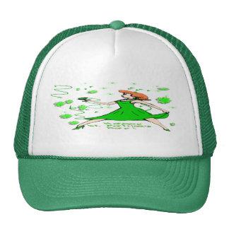 St Patrick's Day Irish Lass Trucker Hat