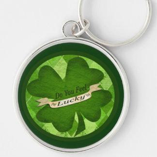 St. Patrick's day Irish Lucky Clover Key Chain