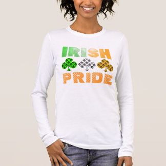 St. Patrick's Day Irish Pride Damask T-shirt