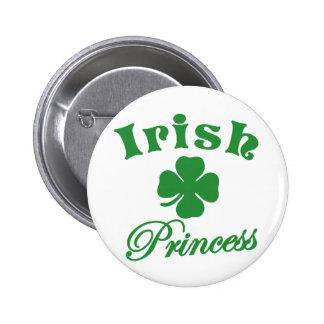 St. Patrick's Day Irish Princess T-Shirt Pin