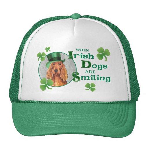 St. Patrick's Day Irish Setter Trucker Hat