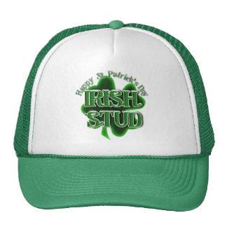 St. Patrick's Day Irish Stud Trucker Hat