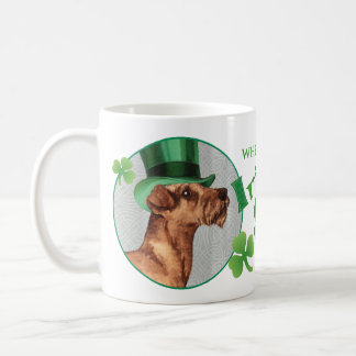 St. Patrick's Day Irish Terrier Coffee Mug