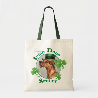 St. Patrick's Day Irish Terrier Tote Bag