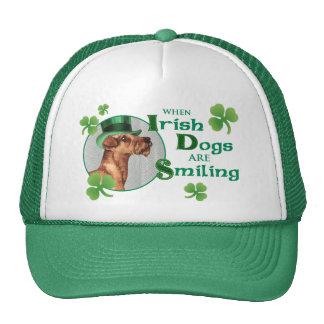 St. Patrick's Day Irish Terrier Trucker Hat