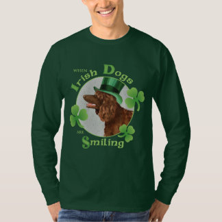 St. Patrick's Day Irish Water Spaniel T-Shirt