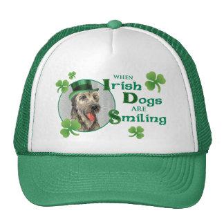 St. Patrick's Day Irish Wolfhound Mesh Hats