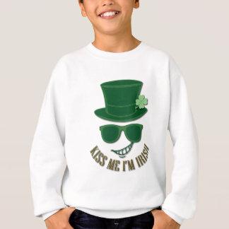 St Patrick's day kiss Me I'M Irish Sweatshirt
