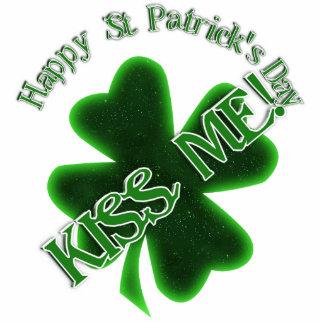 St Patrick's Day  - Kiss Me! (tilt) Cut Out