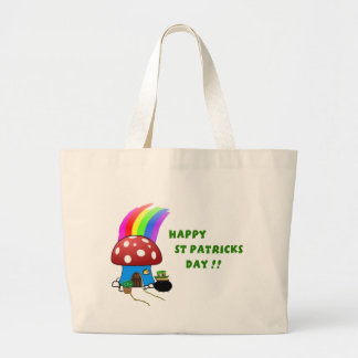 St Patricks Day Large Tote Bag