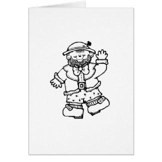 St. Patrick's Day Leprechaun Cards
