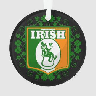 St Patricks Day Leprechaun Gold Ornament