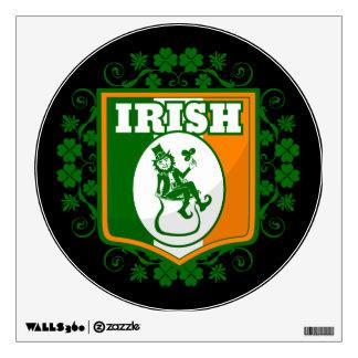 St Patricks Day Leprechaun Gold Wall Sticker