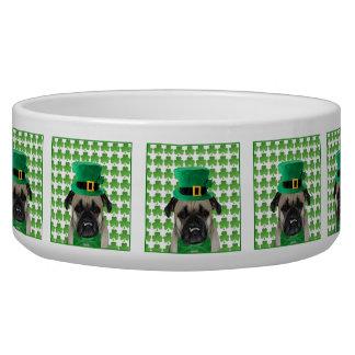St Patrick's Day leprechaun Pug