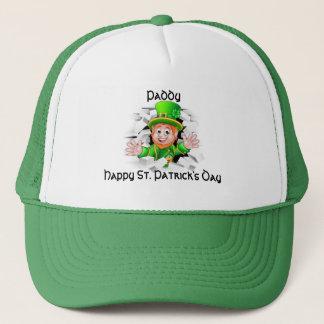 St. Patrick's Day Leprechaun Trucker Hat