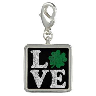 St Patrick's Day LOVE Shamrock Irish Charm