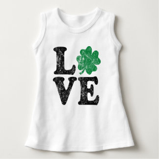 St Patrick's Day LOVE Shamrock Irish Dress
