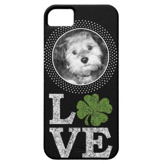 St Patricks Day Love with Irish Shamrock and Photo iPhone 5 Case