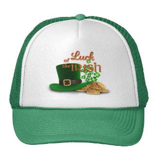 "St. Patrick's Day - ""Luck of the Irish"" Trucker Hat"