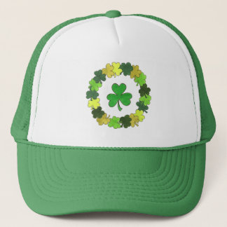 St. Patrick's Day Lucky Irish Green Shamrock Hat