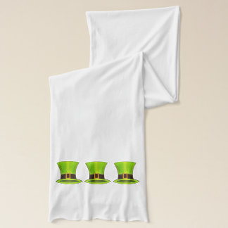 St. Patrick's Day Lucky Leprechaun Top Hat Scarf