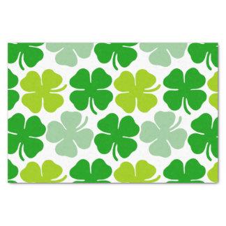 St. Patrick's Day Lucky Shamrock Tissue Paper
