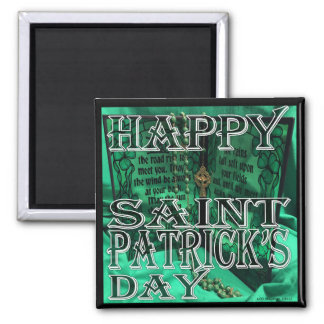 St Patrick's Day Magnet
