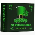St Patrick's Day Memories Binder