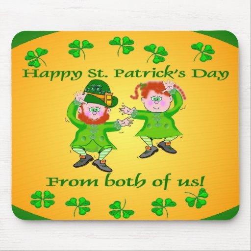 St Patricks Day Mousepads