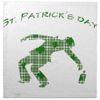 St. Patricks day Napkin