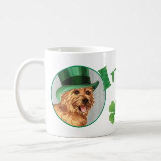 St. Patrick's Day Norwich Terrier Coffee Mug