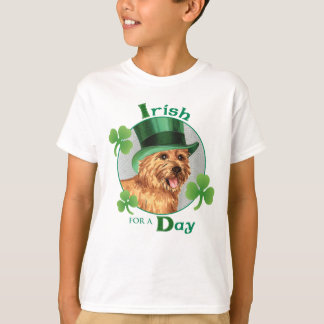 St. Patrick's Day Norwich Terrier T-Shirt