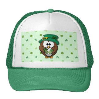 St. Patrick's Day owl Hats