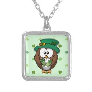 St. Patrick's Day owl Custom Jewelry