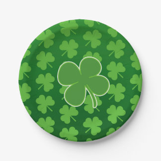 St. Patrick's Day Paper Plates