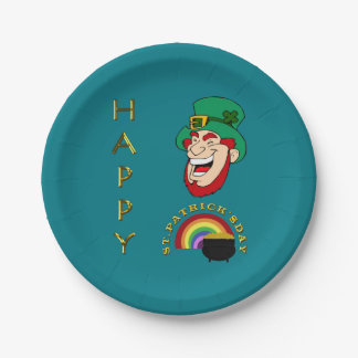 St. Patrick's Day Paper Plates 7 Inch Paper Plate