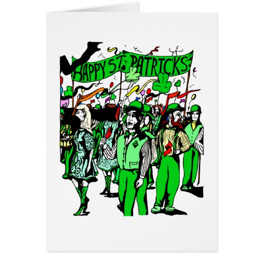 st patricks day parade graphic.png greeting cards