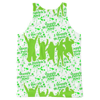 St Patricks Day Party Poster All-Over-Print Tank Top